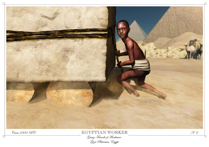 No 2 Egyptian Worker
